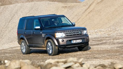 Test drive Land Rover Discovery 4 SE SDV4/245 CP
