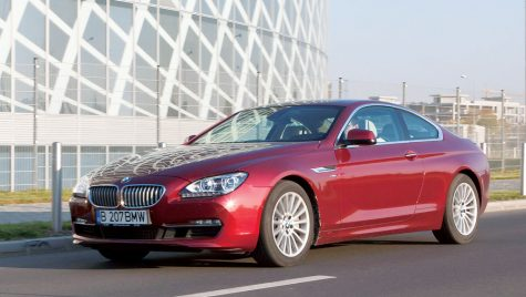 Test drive BMW 650i Coupe xDrive 407 CP