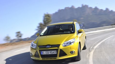Test drive Ford Focus Hatchback 1.0 EcoBoost 125 CP