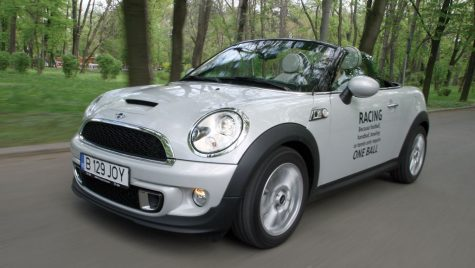 Test drive MINI Cooper S Roadster 1.6 T/184 CP
