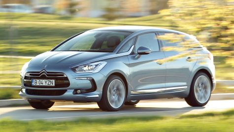Test drive Citroen DS5 Hybrid4 200 CP