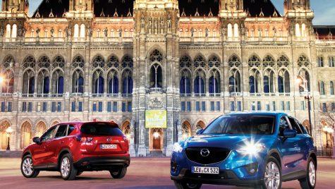Protejat: Test drive la lansarea internationala Mazda CX-5 Diesel
