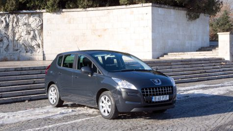 Test drive Peugeot 3008 1.6 HDi 110 CP