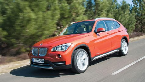Test drive BMW X1 xDrive 25d si X6 facelift