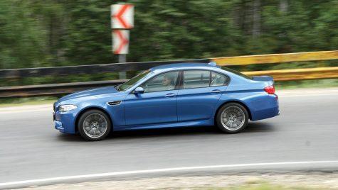 Test drive BMW M5 4.4 l 560 CP