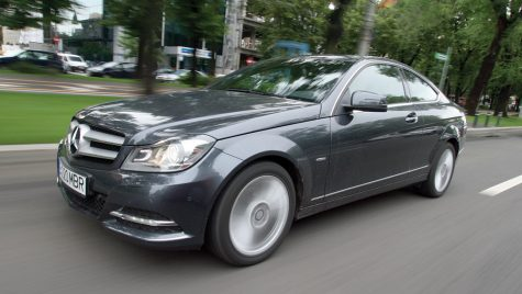 Test drive Mercedes-Benz Clasa C 220 CDI Coupe