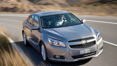 Test drive lansare internationala Chevrolet Malibu