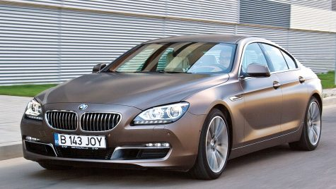 Test drive BMW 640d Gran Coupe 313 CP