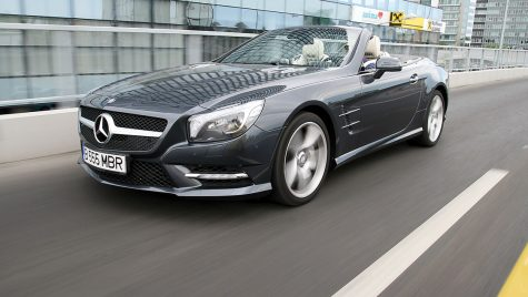 Test drive Mercedes-Benz SL 500