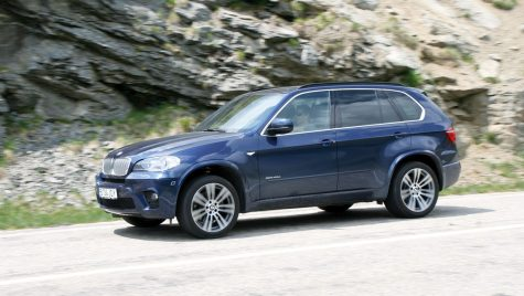 Test drive BMW X5 xDrive40d 306 CP