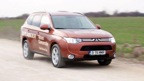 Test drive lansare Mitsubishi Outlander 2.0i/150 CP CVT 4×4