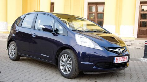 Test drive Honda Jazz 1.4 I-VTEC 100 CP AT