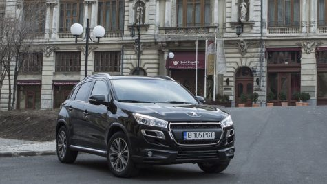 Test drive – Peugeot 4008 1.8 HDi/150 CP 4×4