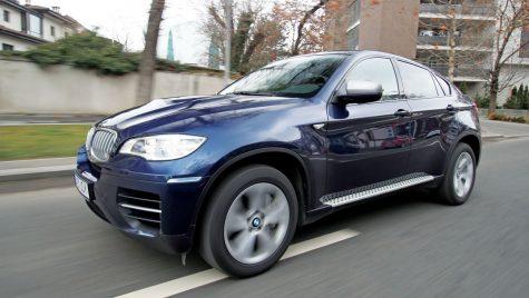 Test drive – BMW X6 M550d 381 CP