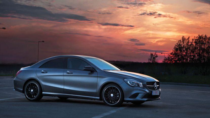 Test drive - Mercedes-Benz CLA 250/211 CP