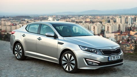 Test drive Kia Optima 1.7 DSL/136 CP AT