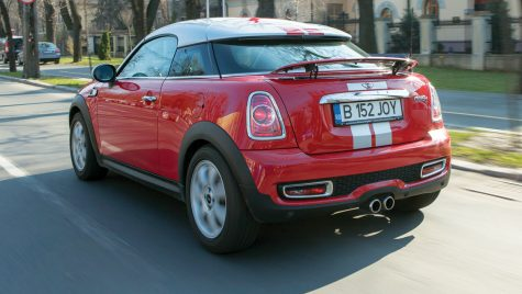 Test drive – MINI Cooper S Coupe 1.6 T/184 CP