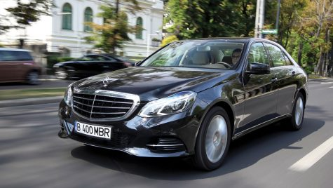 Test drive Mercedes-Benz E 250 CDI/204 CP 4MATIC