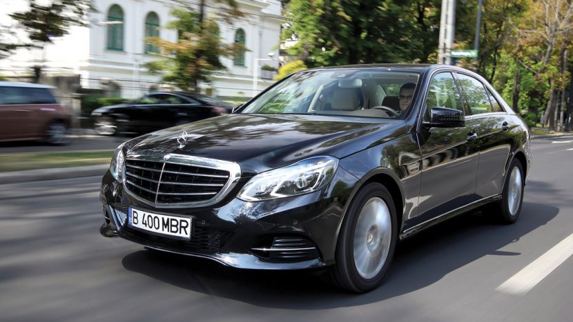 Test drive - Mercedes-Benz E 250 CDI/204 CP 4MATIC