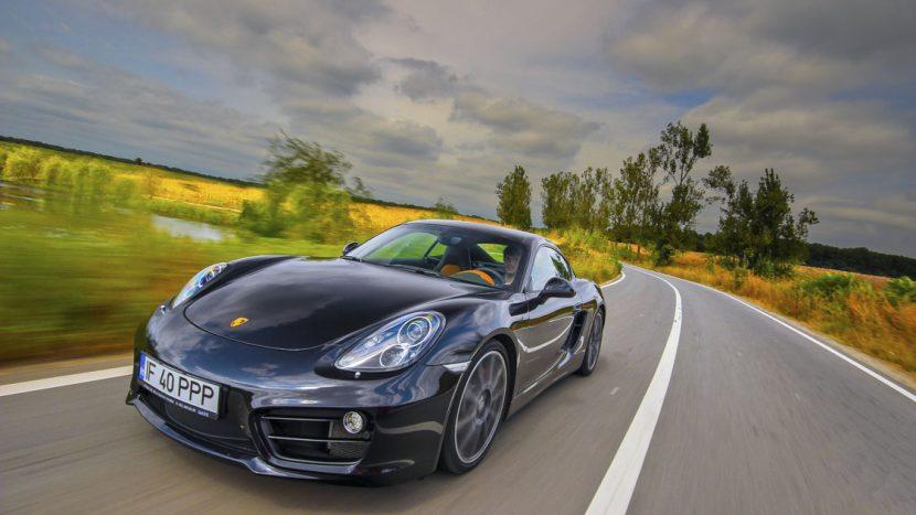 Test drive - Porsche Cayman S 3.4/325 CP