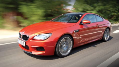 Test drive BMW M6 Coupe 4.4 l V8/560 CP