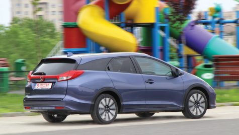 Test drive – Honda Civic Tourer 1.8 i-VTEC 142 CP
