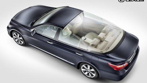 Unicat Lexus pentru nunta regală din Monaco