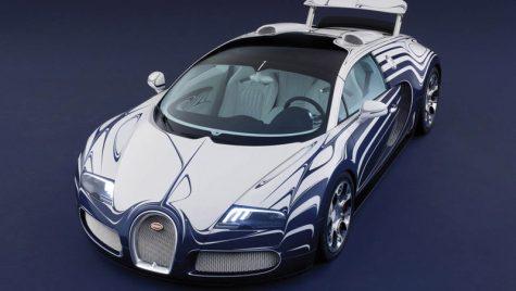 Cântecul de lebădă a lui Veyron este placat cu porțelan