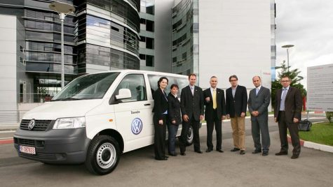 Volkswagen a donat un Transporter