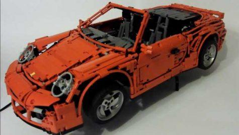 VIDEO: Fascinația pentru Porsche întâlnește fascinația pentru Lego