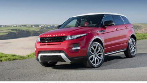 Range Rover Evoque la mare căutare