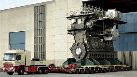 Cel mai mare motor diesel din lume produce 109 000 CP