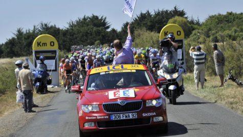 ŠKODA – sponsor de tradiție în Turului Franței