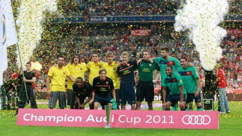 Audi Cup 2011 a fost câștigată de FC Barcelona