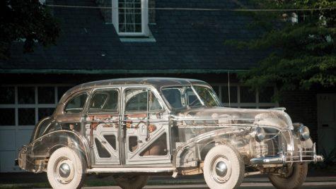 Pontiac Ghost Car din 1939 scos la licitație