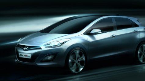 Oficial: prima schiță a viitorului Hyundai i30