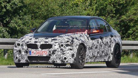 Fotografii spion cu viitorul BMW M3
