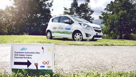 Chevrolet donează al patrulea autovehicul Organizaţiei SOS Satele Copiilor România