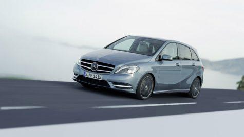 Noul Mercedes-Benz Clasa B impresionează înainte de Frankfurt