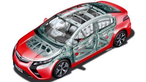 Rezultat electrizant la testele de impact pentru Opel Ampera