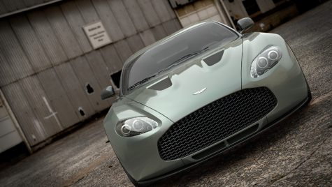 Vis în producție de serie: Aston Martin V12 Zagato