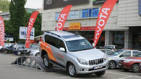 Etapa a doua pentru Caravana Toyota Experience 2011