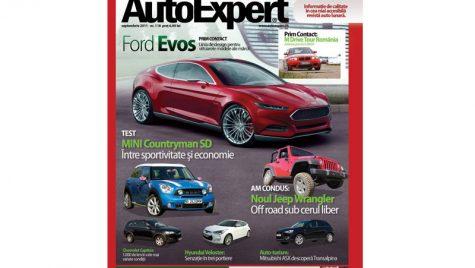 A apărut numărul 118 al revistei AutoExpert