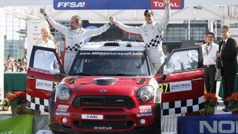 Rezultatul spectaculos pentru MINI WRC Team – locul secund în Raliul Franței