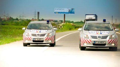 2 Avensis vegheză autostrada A2