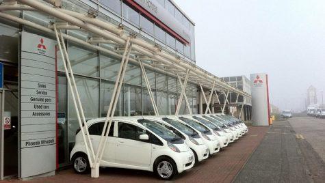 Cea mai mare comendă de Mitsubishi i-MiEV de până acum