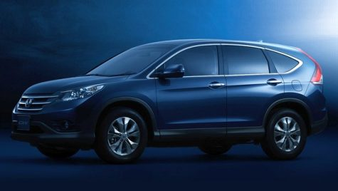 Primele imagini oficiale cu noua Honda CR-V
