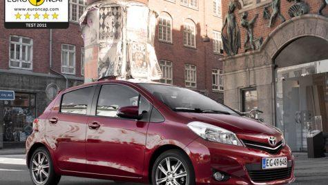 Noul Yaris obține punctajul maxim de 5 stele la testele de siguranță Euro NCAP