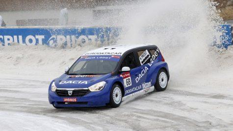 """Prima etapă Trofeul Andros, primul podium pentru Dacia Lodgy """"Glace"""""""