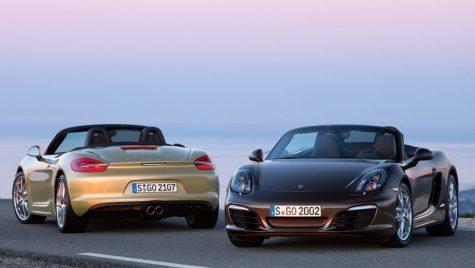 Porsche Boxster dezvăluit!